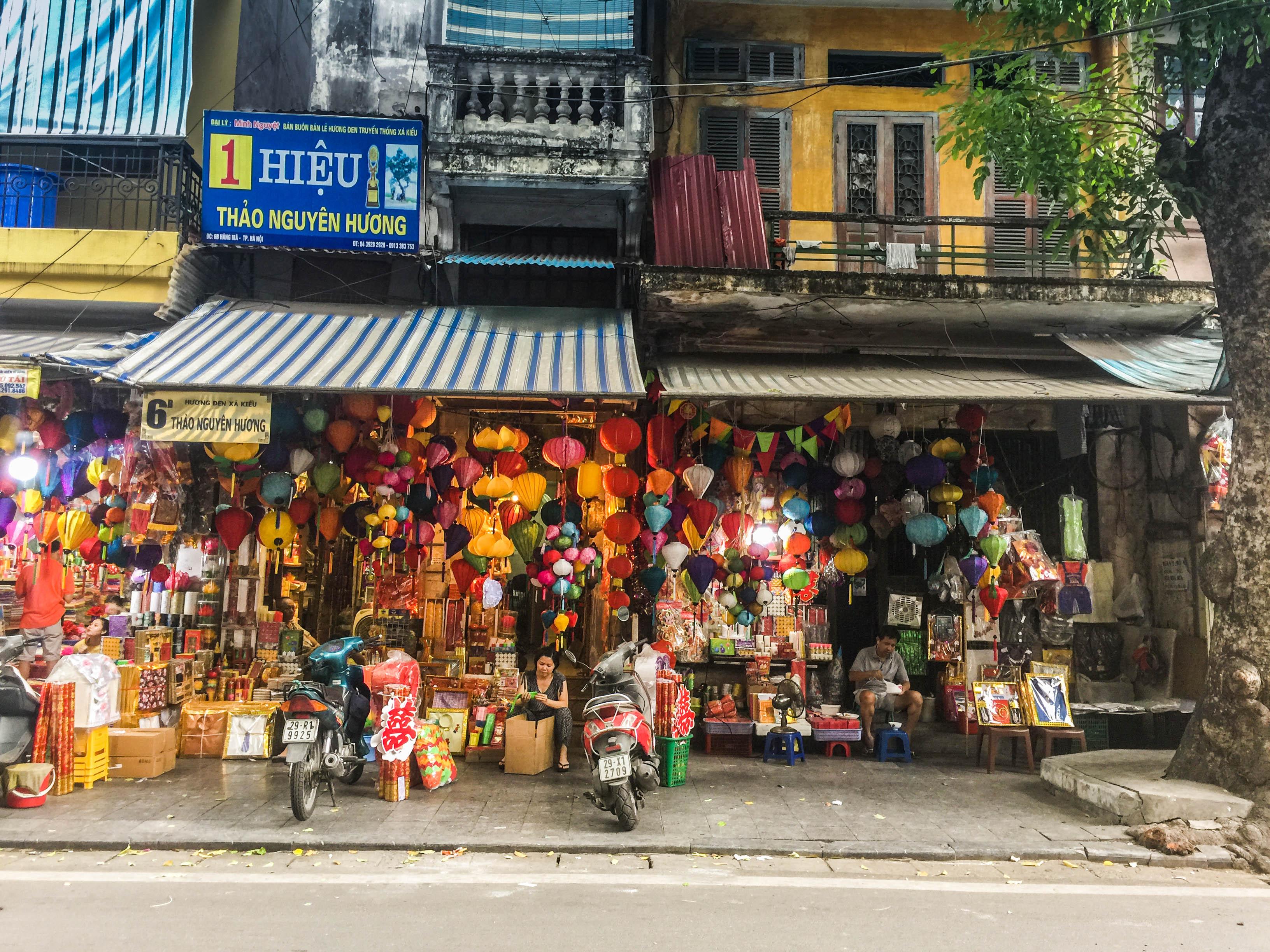 an image of Vietnamese street food