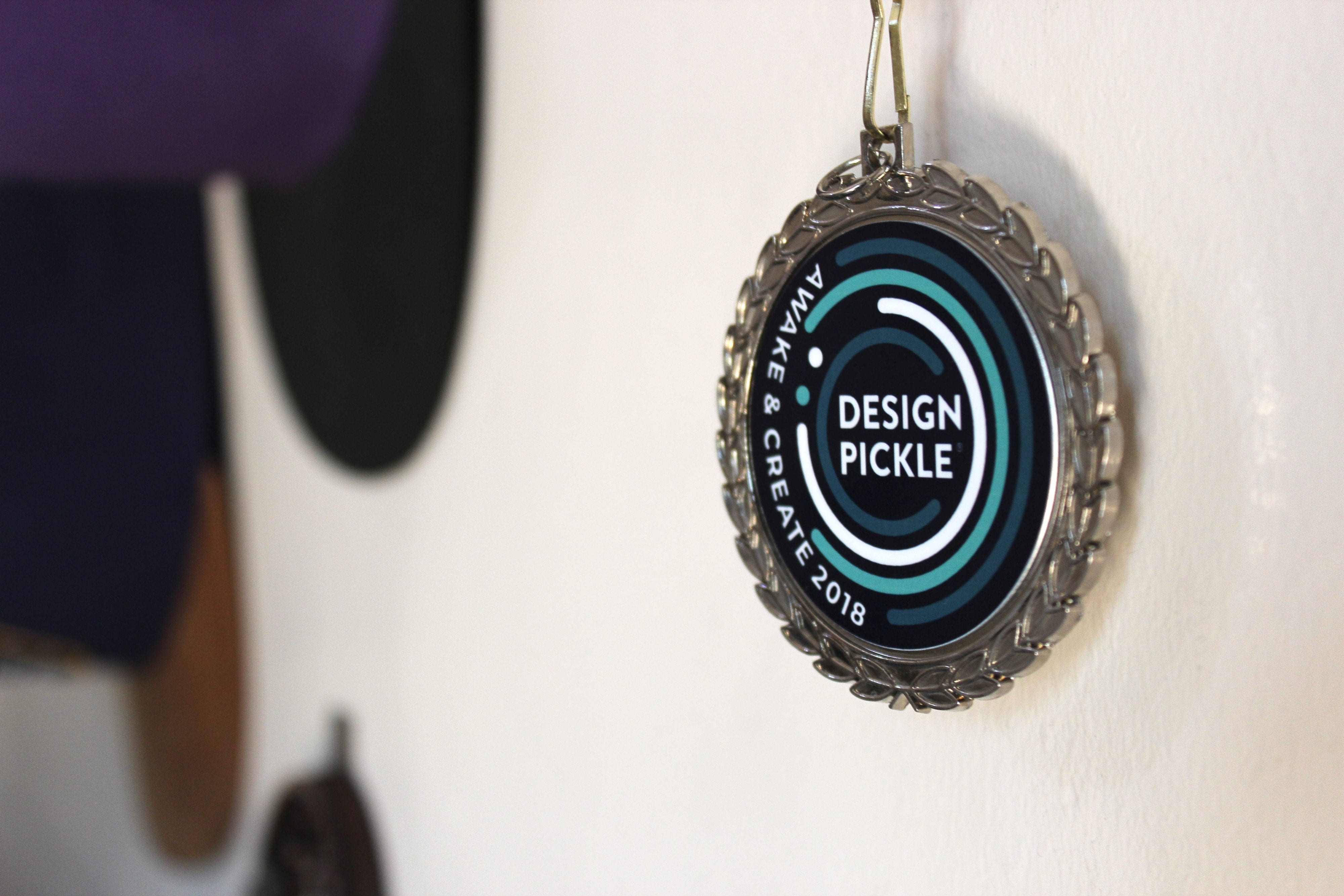 an image of the Design Pickle PickleCon badge