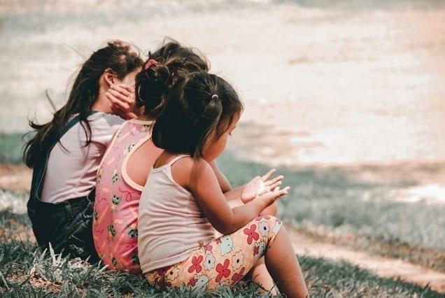 an image of 3 little kids