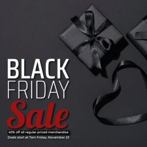 Black Friday sale box