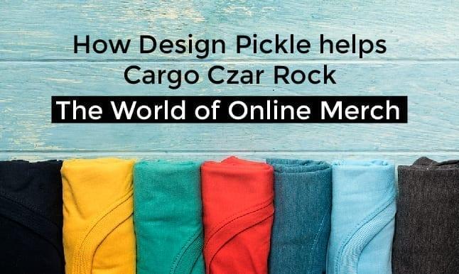 How Design Pickle helps Cargo Czar rock the world of online merch