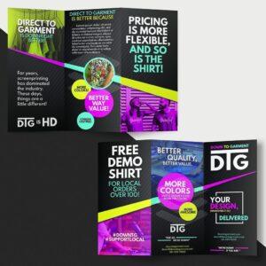 DTG Brochure Design Sample