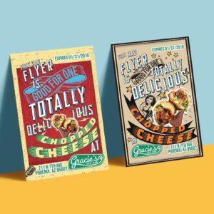 Restaurant Flyer Design Sample