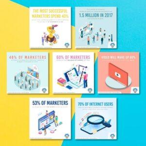 most popular designs #2: Digital Ads - Web & Social Media
