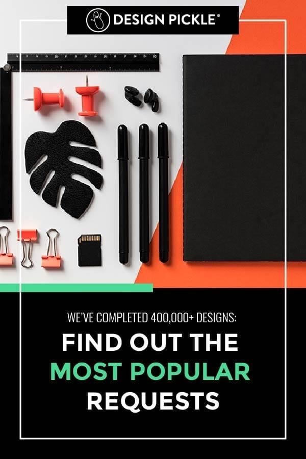 most popular requests for design pickle on pinterest
