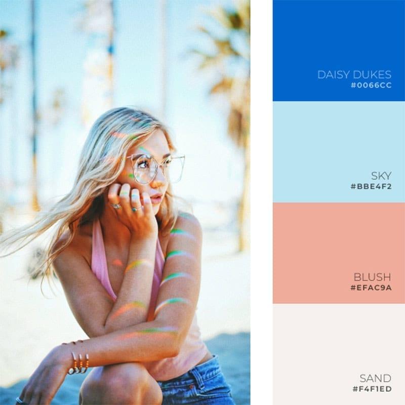 vibrant color palette inspiration