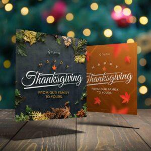Thanksgiving Ad Design