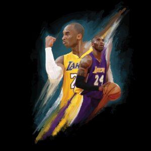 Kobe Bryant Illustration