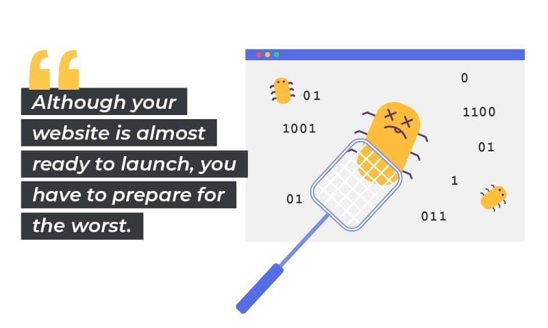 website launch: squash bugs