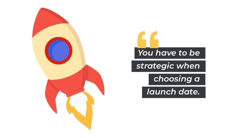 website launch: launch date