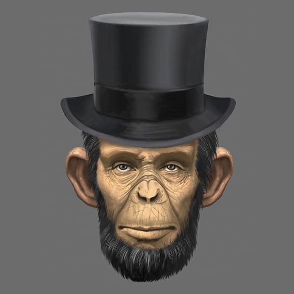 custom-illustration-abraham-lincoln-chimp