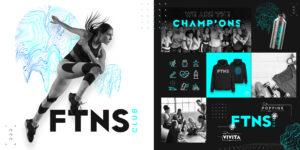 Health Club Brand Design